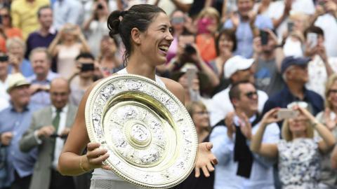 Garbine Muguruza wins Wimbledon