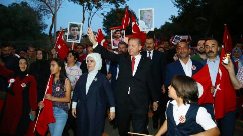 Turkey marks first anniversary of coup attempt