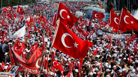 How did the failed coup affect Turkey-US relations?
