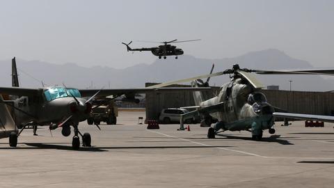 Witnesses dispute Kabul's claim air strikes killed Taliban