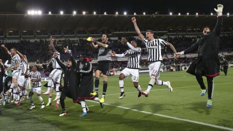 Juventus wins Serie A championship for fifth season in a row