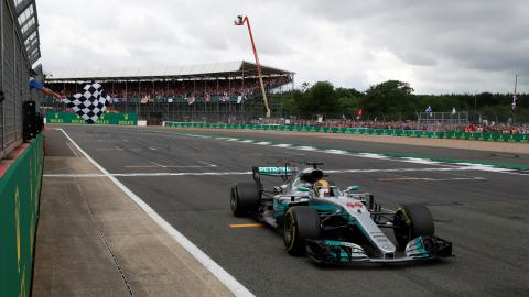Hamilton wins British GP fourth year in a row