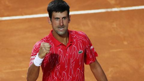 Djokovic and Halep claim Italian Open titles