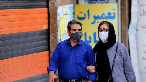 Iran registers record daily high in new coronavirus cases – latest updates