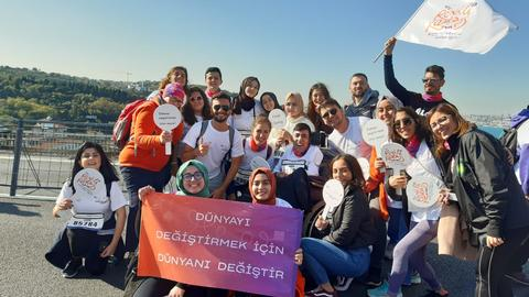 Change your world to change the world: Turkish NGO aids university students