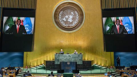 African Union: Virus has set back Africa's development
