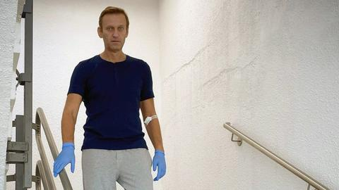 Russian opposition leader Navalny discharged from Berlin hospital