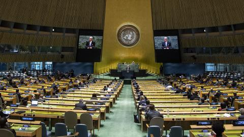 UN in disarray as global powers push their national interests