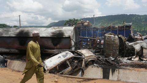 Petrol tanker explosion in Nigeria kills scores