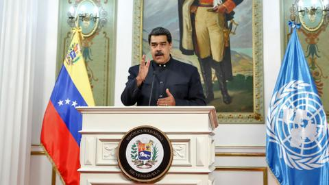 Venezuela's Maduro blasts US in UN speech