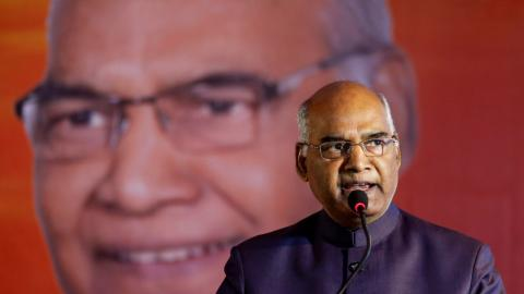 India's parliament votes for new president