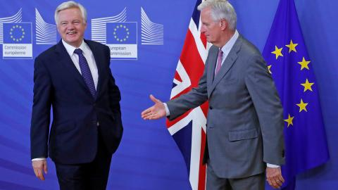 Brexit negotiations start in Brussels