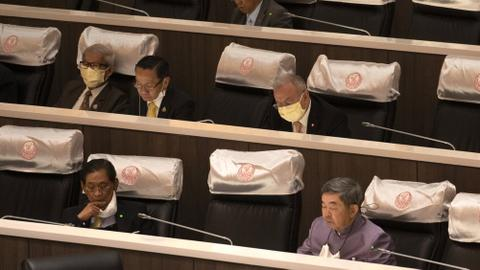 Thai Parliament delays decision on constitutional amendments