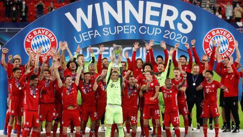 Bayern beat Sevilla to win UEFA Super Cup