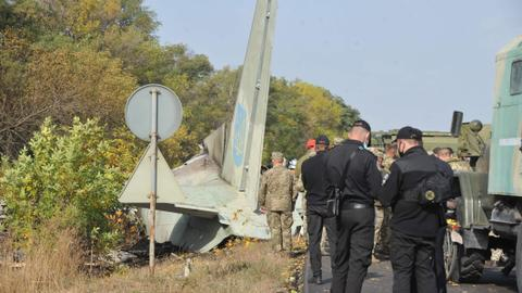 Ukraine orders investigation after military plane crash kills dozens