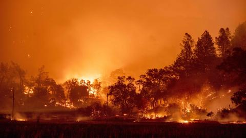 Massive evacuations underway as California wildfires hit Napa Valley