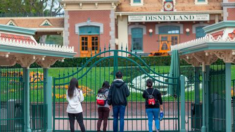 Disney to lay off roughly 28,000 of its park employees