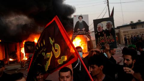 Is the US preparing for a major offensive in Iraq against Iran?