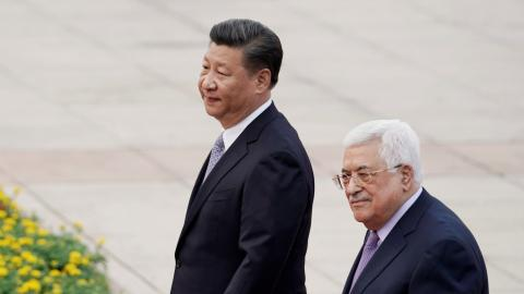 China reiterates support for independent Palestinian state