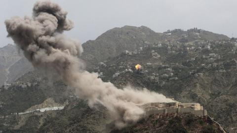 Saudi-led air strikes kill at least 20 people in Yemen