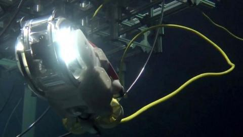Japan's swimming robot to study damage at Fukushima