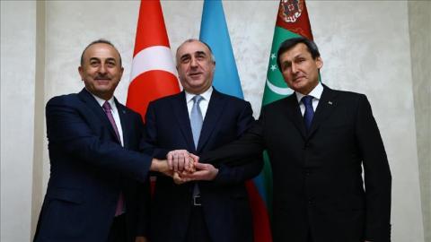 Turkey, Azerbaijan, Turkmenistan seek to bolster ties