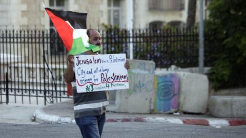 Protests will continue, says Al Aqsa's imam