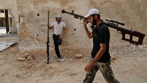 SOHR says 38 killed in clashes between opposition groups in idlib