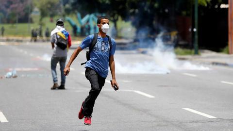 Millions heed anti-Maduro shutdown in Venezuela
