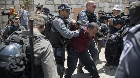 Call for day of rage over Al Aqsa tensions ahead of Friday prayers