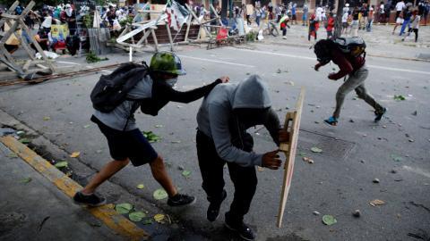 Two killed, nine injured in Venezuela's nationwide protests