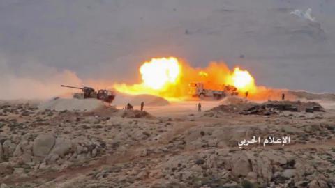 Hezbollah, regime forces launch operation on Syria-Lebanon border
