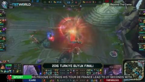 E-Sports take off in Turkey