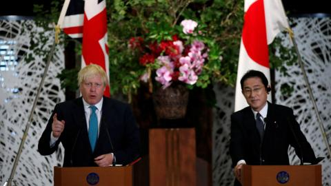 Britain stands with Japan to stop North Korea's nuclear threat