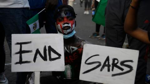 Nigerian youth back on the streets to protest against police brutality