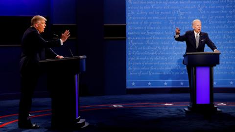 Mics to be muted in US presidential debate to stop interruptions