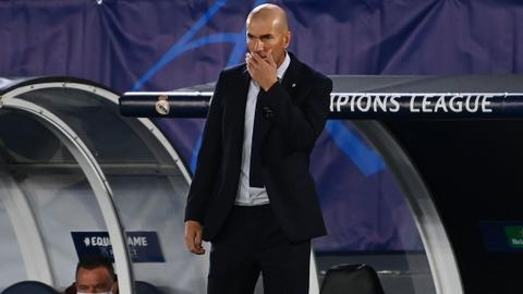 Zidane calls for calm after Shakhtar Donetsk stun Real Madrid