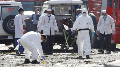 Taliban car bomb kills at least 35 in Kabul