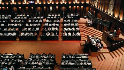 Sri Lanka parliament approves widespread powers for president