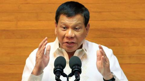 Duterte says martial law to continue in Mindanao