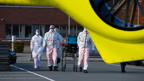 Frantic EU sound alarm over exponential rise in infections