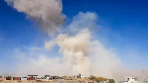 Afghan roadside bomb targets passenger bus