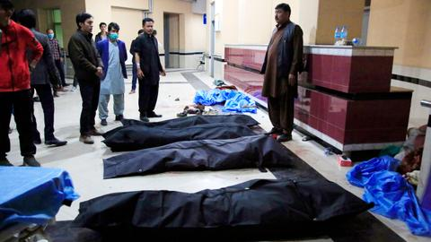 Suicide bombing at Kabul education centre kills several, including children