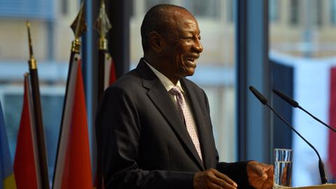Guinea's President Alpha Conde wins third term