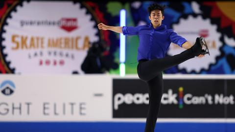 Nathan Chen wins fourth straight gold at Skate America