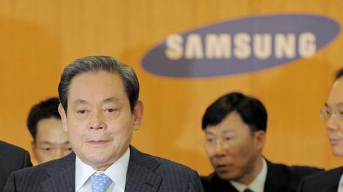 Chairman of Samsung Electronics dies at 78