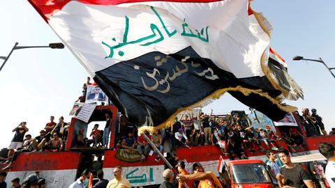 Iraqis mark anniversary of October 25 protests with more demonstrations