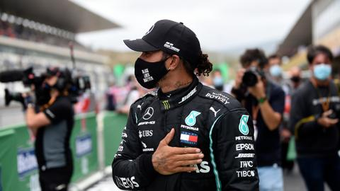 Lewis Hamilton makes F1 history, wins Portuguese Grand Prix
