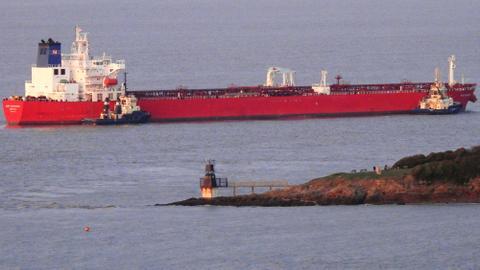 UK military seizes threatened oil tanker in English channel