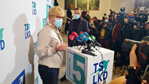 Lithuanian opposition claims victory in general election